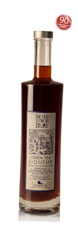The Old Liquor Store, Green Tea Liqueur, Wine Enthusiast 90 points