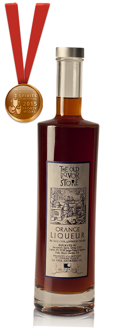 The Old Liquor Store, Licor de Naranja, San Francisco World Spirits Competition Medalla de Bronce