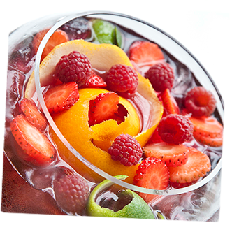 La Vieja Licorería, LVL, Sangría, Licor de naranja, Licor de fresas